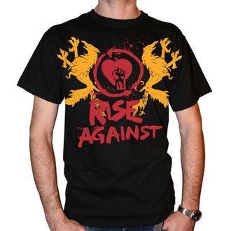 tee-shirt métal pour hommes Rise Against - Fist Crest - KINGS ROAD, KINGS ROAD, Rise Against