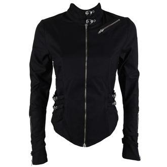 chemise pour femmes BLACK PISTOL - Buckle Blouse Denim Noire, BLACK PISTOL