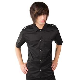 chemise pour hommes Aderlass - Armée chemise Denim Noire, ADERLASS