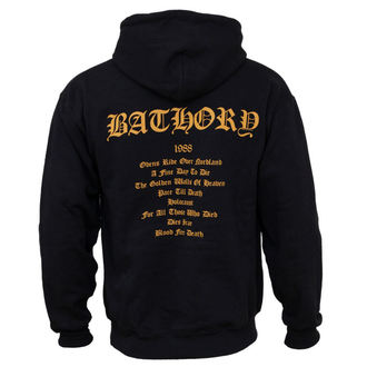 sweat-shirt pour hommes Bathory - Blood Fire Death, PLASTIC HEAD, Bathory