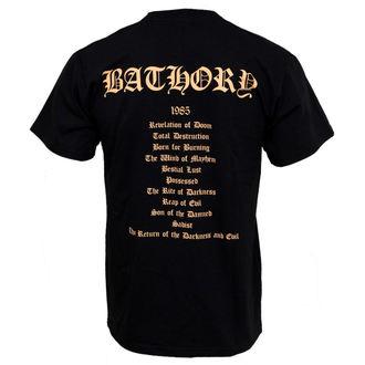 tee-shirt métal Bathory - - PLASTIC HEAD, PLASTIC HEAD, Bathory