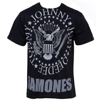 tee-shirt métal Ramones - Hey Ho Lets Go - LIQUID BLUE, LIQUID BLUE, Ramones