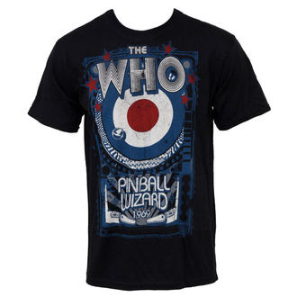 tee-shirt métal Who - Pinball - LIQUID BLUE, LIQUID BLUE, Who