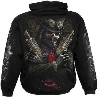 sweat-shirt avec capuche pour hommes - Steam Punk Bandit - SPIRAL