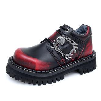 chaussures KMM 4-dírky - Big Crânes Noire Rouge Monster 1P, KMM