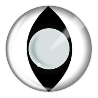 de contact lentilles BLANC CAT - EDIT, EDIT