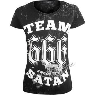 t-shirt hardcore pour femmes - TEAM SATAN - AMENOMEN, AMENOMEN