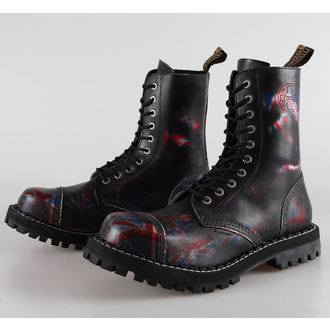 bottes en cuir pour femmes - STEEL - 105/106 Uk Black