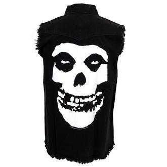 gilet pour hommes Misfits - Skull - RAZAMATAZ