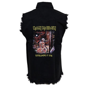 gilet pour hommes Iron Maiden - Somewhere In Time - RAZAMATAZ, RAZAMATAZ, Iron Maiden