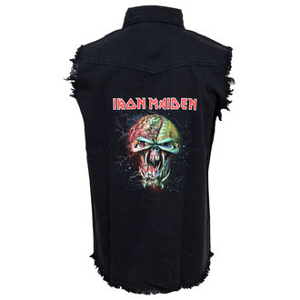 gilet pour hommes Iron Maiden - The Final Frontier Face WS032 - RAZAMATAZ, RAZAMATAZ, Iron Maiden