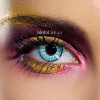 de contact lentilles Blue Glamour - EDIT, EDIT