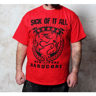 tee-shirt métal pour hommes Sick of it All - HC Crest - Buckaneer, Buckaneer, Sick of it All