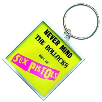pendentif Sex Pistols - Never Mind The B, ROCK OFF, Sex Pistols