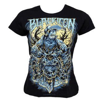 t-shirt hardcore pour femmes - Wolf Sell - BLACK ICON, BLACK ICON