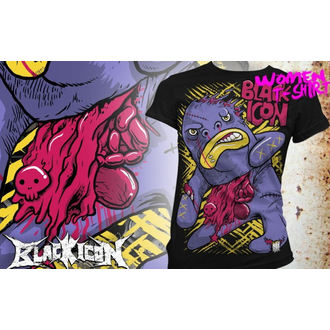 t-shirt hardcore pour femmes - Bigmo - BLACK ICON, BLACK ICON