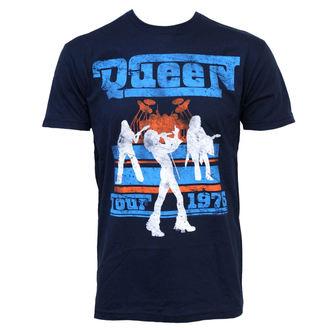 tee-shirt métal pour hommes Queen - Tour 76 - BRAVADO - QEN1004