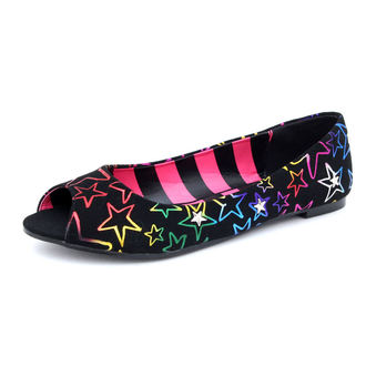 ballerines pour femmes Avril Lavigne - Starstruck Peep Toe Flat - ABBEY DAWN, ABBEY DAWN, Avril Lavigne