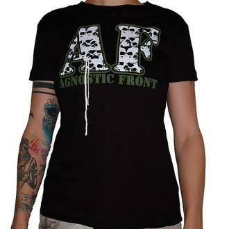 tee-shirt métal pour femmes Agnostic Front - Skulls - RAGEWEAR, RAGEWEAR, Agnostic Front