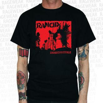 tee-shirt métal pour hommes Rancid - Indestructible - RAGEWEAR, RAGEWEAR, Rancid