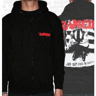 sweat-shirt avec capuche pour hommes Rancid - Wolves - RAGEWEAR