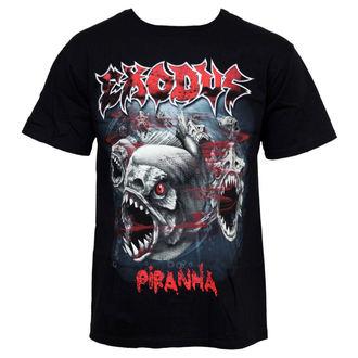 tee-shirt métal pour hommes Exodus - Piranha - LIVE NATION, LIVE NATION, Exodus