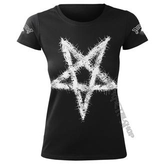 t-shirt hardcore pour femmes - PENTAGRAM - AMENOMEN