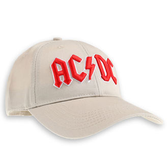 casquette AC / DC - Red Logo Sand - ROCK OFF, ROCK OFF, AC-DC