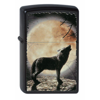 Briquet ZIPPO - WOLF HOWLING TO THE MOON, ZIPPO