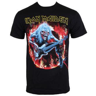 tee-shirt métal pour hommes Iron Maiden - Fear Live Flames - ROCK OFF - IMTEE07MB