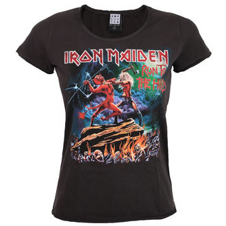 tee-shirt métal pour femmes Iron Maiden - RUN TO THE HILLS - AMPLIFIED, AMPLIFIED, Iron Maiden