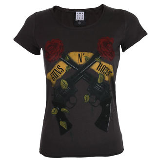tee-shirt métal pour femmes Guns N' Roses - SHOOTING ROSES - AMPLIFIED, AMPLIFIED, Guns N' Roses
