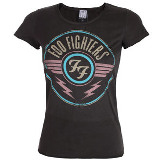tee-shirt métal pour femmes Foo Fighters - CHARCOAL - AMPLIFIED, AMPLIFIED, Foo Fighters