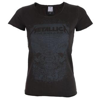 tee-shirt métal pour femmes Metallica - THE BLACK ALBUM - AMPLIFIED, AMPLIFIED, Metallica