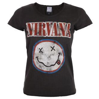 tee-shirt métal pour femmes Nirvana - COLOURS - AMPLIFIED, AMPLIFIED, Nirvana