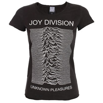 tee-shirt métal pour femmes Joy Division - UNKNOWN PLEASURES - AMPLIFIED, AMPLIFIED, Joy Division