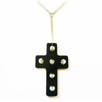 collier Extreme Largeness - Noire Cross, Extreme Largeness