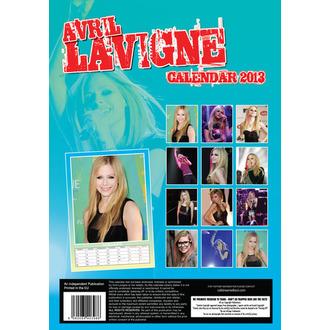 calendrier pour année 2013 Avril Lavigne, Avril Lavigne