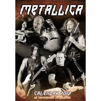 calendrier pour année 2013 Metallica, Metallica