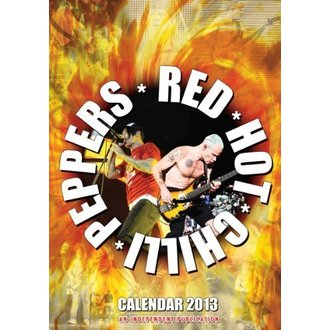 calendrier pour année 2013 - Red Hot Chili Peppers, Red Hot Chili Peppers
