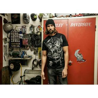 T-shirt pour homme BRANDIT Motörhead Warpig print 61004-black, BRANDIT, Motörhead
