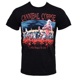 tee-shirt métal pour hommes Cannibal Corpse - Eaten Back To Life - PLASTIC HEAD