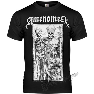 t-shirt hardcore pour hommes - POPE AND DEATH - AMENOMEN, AMENOMEN