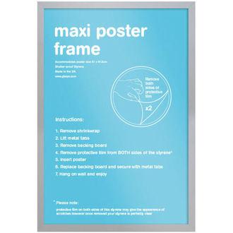 cadre pour affiche (61x91,5 cm) - Silver - GB Affiches, GB posters