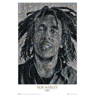 affiche Bob Marley - Mosaic II - GB Affiches, GB posters, Bob Marley