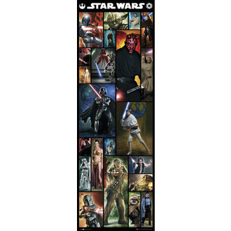 affiche Étoile Wars - Compilation - GB Affiches, GB posters