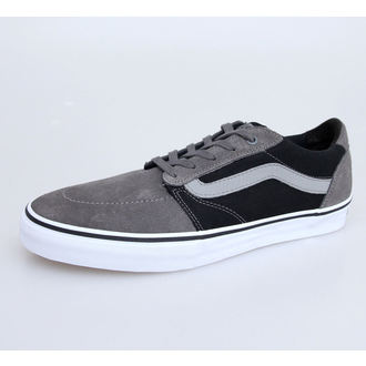 chaussures de tennis basses pour hommes - Lindero - VANS - Pewter/Black, VANS