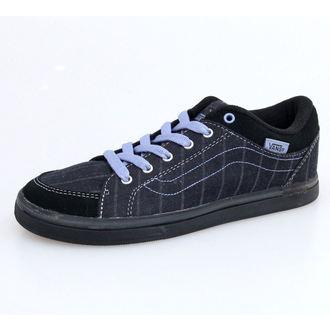 chaussures de tennis basses pour femmes - W Skyla - VANS - BLACK-GREY, VANS
