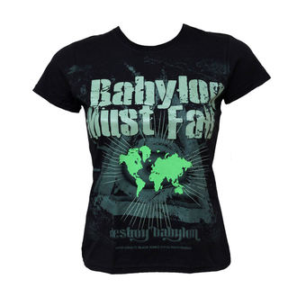 t-shirt hardcore pour femmes - Babylon Must Fall - BLACK ICON, BLACK ICON