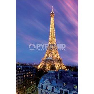 affiche Eiffel Tower At Crépuscule - de pyramides Affiches, PYRAMID POSTERS